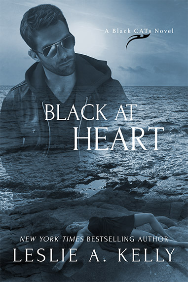 Black at Heart by Leslie A. Kelly